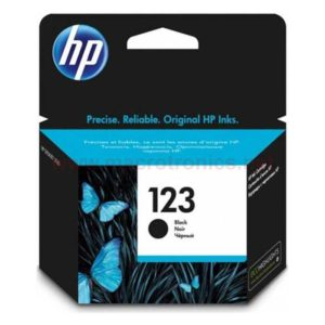 HP 123 Black Original Ink (F6V17AE)