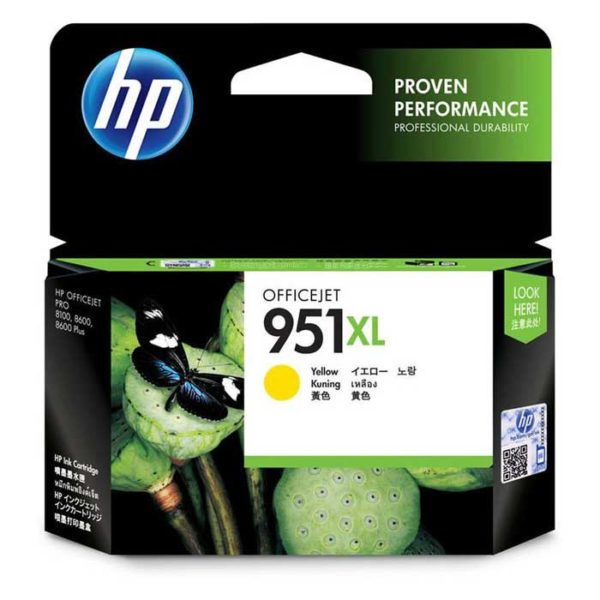 Hp yellow ink