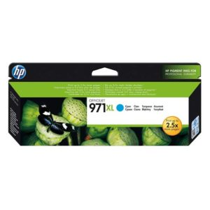 HP 971XL Cyan High Yield Original Ink (CN626AE)