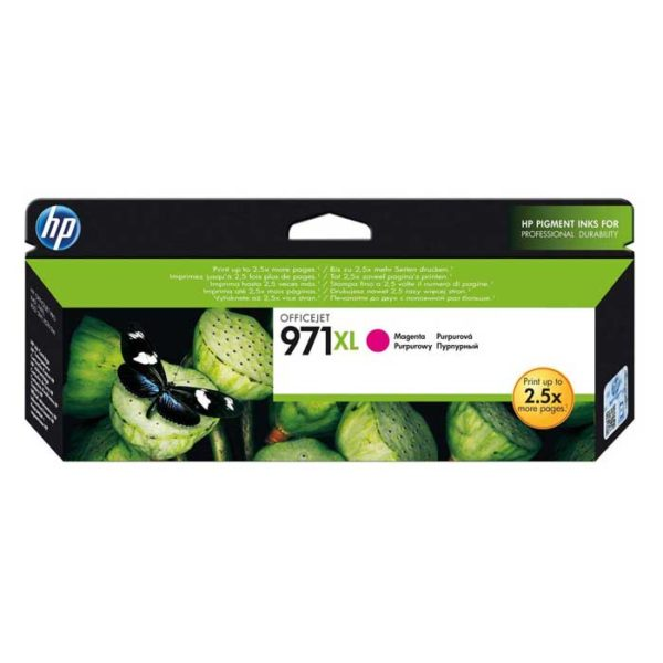 HP 971XL Magenta High Yield Original Ink (CN627AE)
