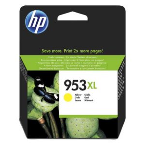 HP 953XL Yellow High Yield Original Ink (F6U18AE)