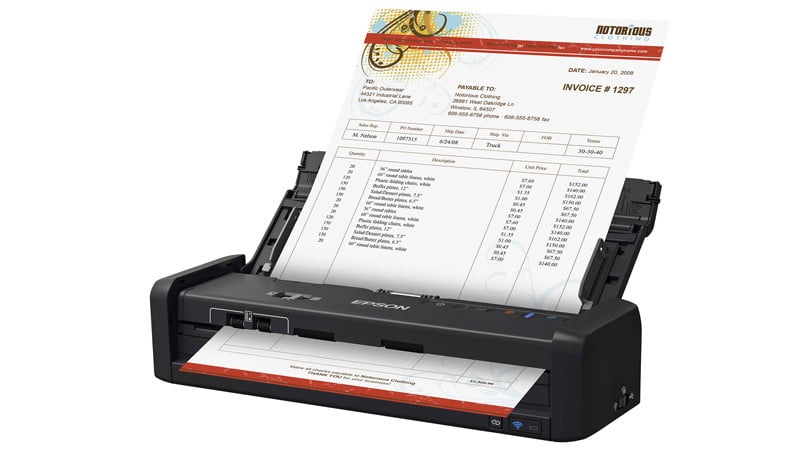 521222 new scanner in town - Epson WorkForce ES-300WR Wireless Document Scanner — Accounting Edition Review & Rating
