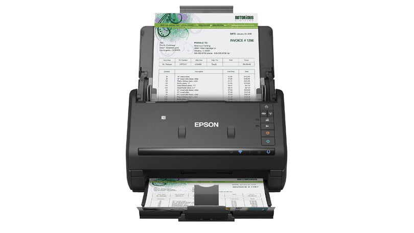 522780 epson workforce es 500wr - Epson WorkForce ES-500WR Wireless Document Scanner—Accounting Edition Review & Rating