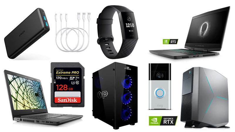 650049 deals 6 6 19 - Deals: Gaming PCs, Dell Laptops, Fitbit Tracker, Anker Accessories | News & Opinion