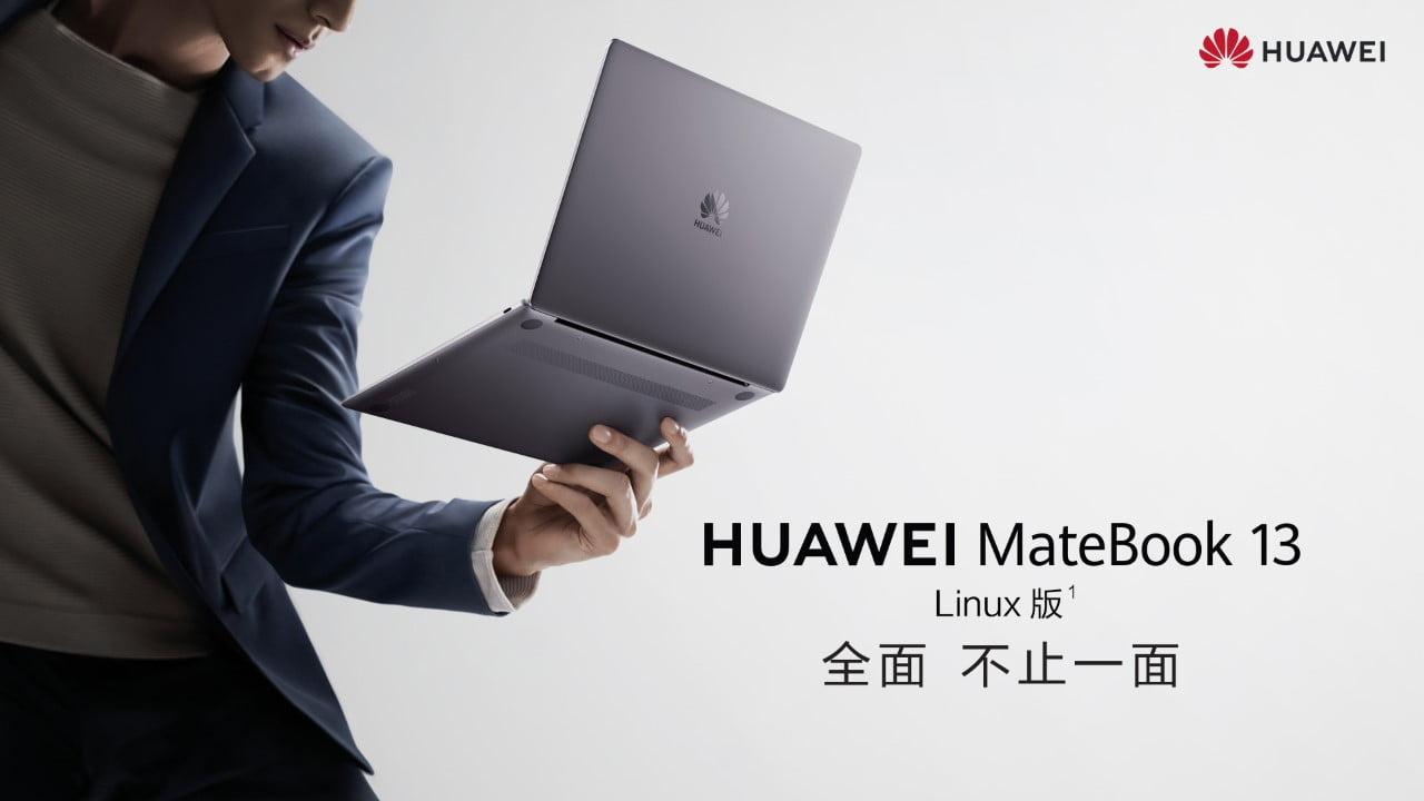 663440 huawei matebook 13 running linux - Huawei Opts for Linux on Its Laptops | News & Opinion