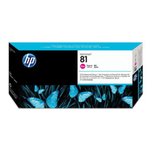HP 81 Magenta Original Printhead and Printhead Cleaner (C4952A)