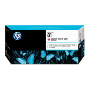 HP 81 Light Magenta Original Printhead and Printhead Cleaner (C4955A)