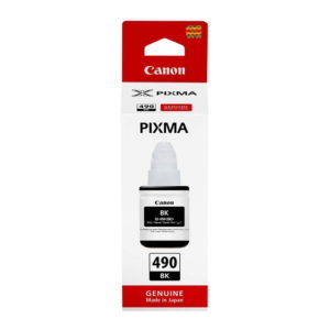 Canon GI-490BK Black Original Ink Bottle (0663C001)