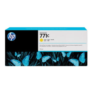 HP 771C Yellow Original Ink (B6Y10A)