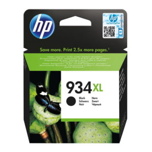 HP 934XL High Yield Black Original Ink (C2P23AE)