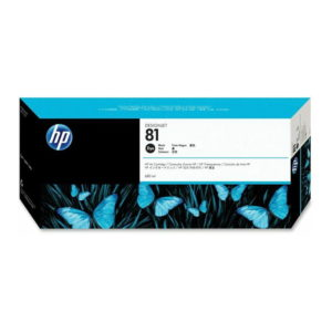 HP 81 Black Original Ink (C4930A)