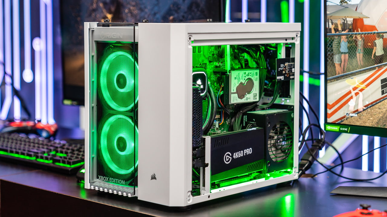 683797 corsair big o xbox - Origin PC's Big O (Yep) Merges a Gaming PC and Console | News & Opinion
