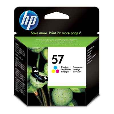 HP 57 Tri-color Original ink (C6657AE)