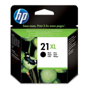 HP 21XL High Yield Black Original ink (C9351CE)