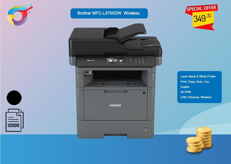 Brother L5755dw Promo - Computer & Printer Shop