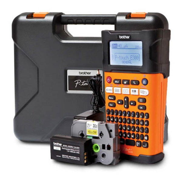 Brother P-touch PT-E300VP Industry Label Printer