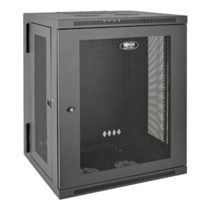 SmartRack 15U Wall-Mount Rack Enclosure Cabinet