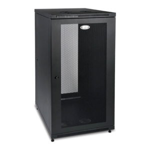 SmartRack 24U Mid-Depth Floor-Standing Rack Enclosure Cabinet