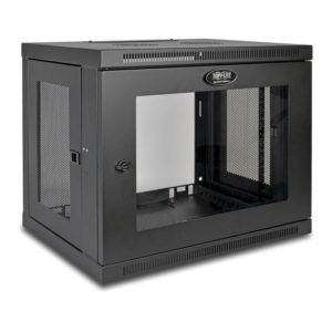 SmartRack 9U Depth Wall-Mount Rack Enclosure Cabinet