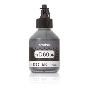 Brother BTD60BK High Yield Black Original Ink Bottle