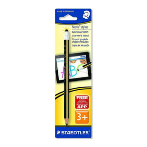 Staedtler 2 in1 Pencil & Jumbo Stylus For PC Tablets – Black