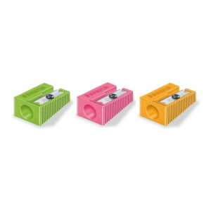 Staedtler (51050) Sharpener in A Display 60 Pack, Sizing