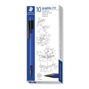 Staedtler 777 Mechanical Pencil Graphite Refill Diameter 0.7 mm, Blue 10 Pack