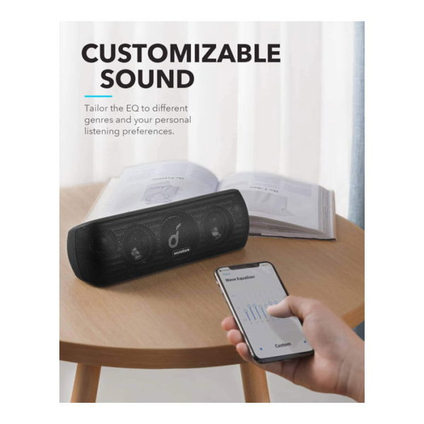 Anker Soundcore Motion+ Bluetooth Speaker (Black)