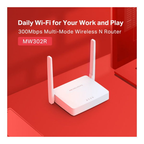 MERCUSYS MW302R 300Mbps Multi-Mode Wireless N Router