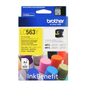 Brother LC563Y Yellow Original Ink