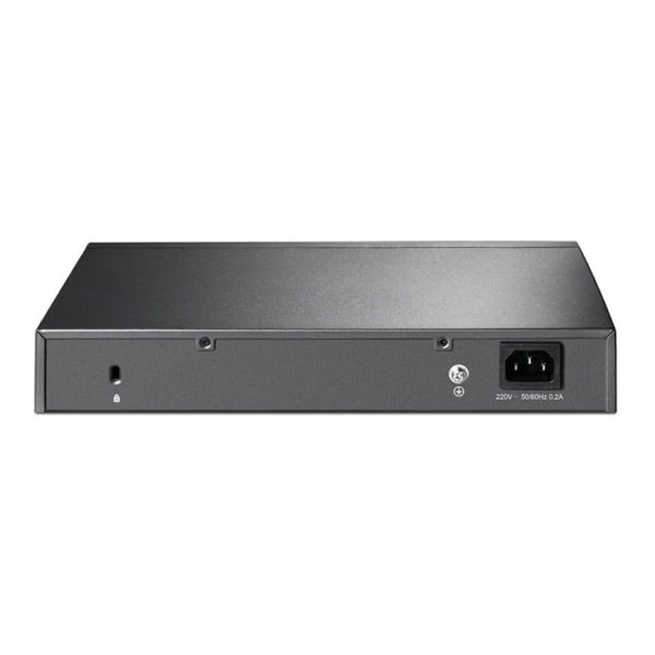 TP-Link T2500G-10TS JetStream 8-Port Gigabit L2 Managed Switch with 2 SFP Slots